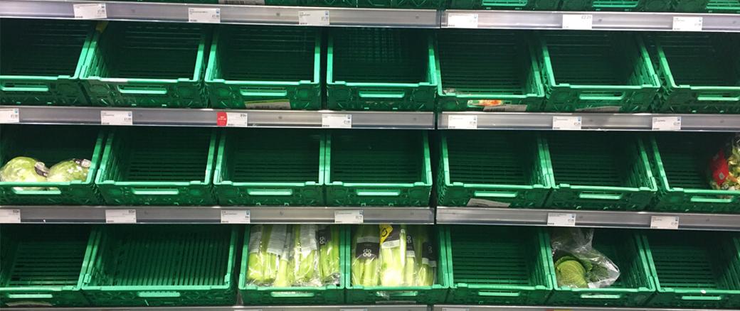 EmptyShelvesSupermarket